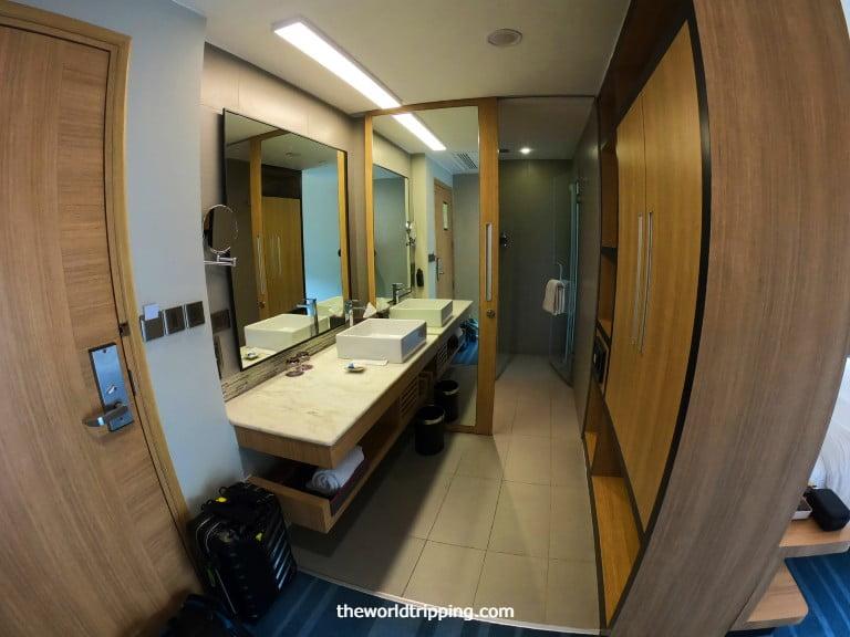 Toilet + Bathroom Layout