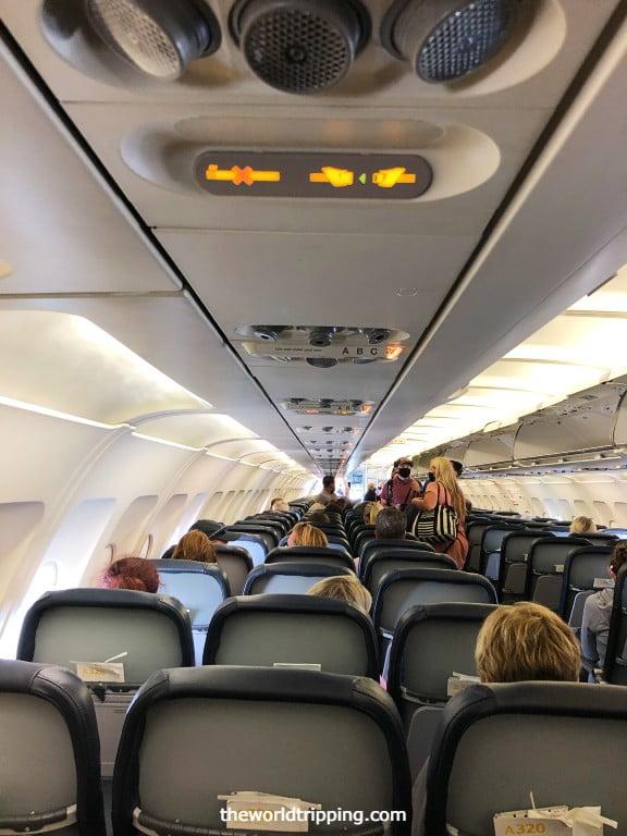 Allegiant Air Boarding