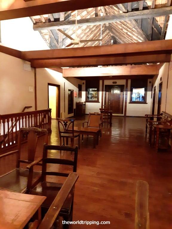 Lounge area at Hotel Marina