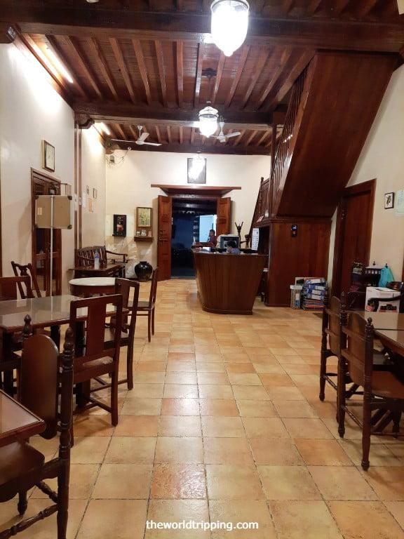 Lobby at Hotel Marina Nani Daman