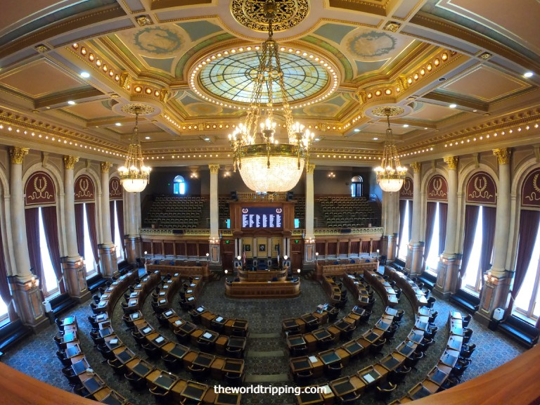Iowa House of Representative Chamber