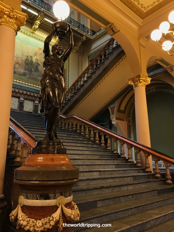 Staircase Statue