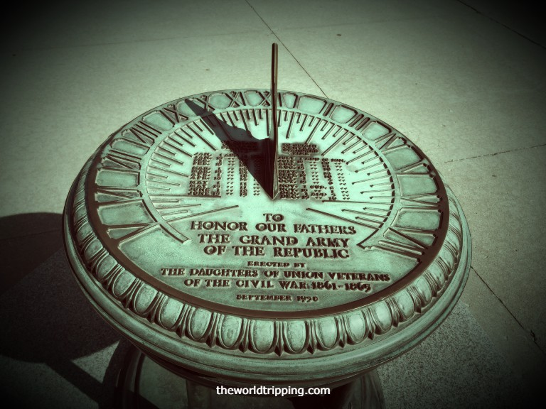 Grand Army of the Republic (G.A.R.) Sundial