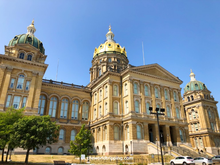 Iowa State Capitol Building Tour