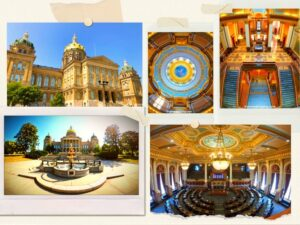 Read more about the article Top Free Attraction in Des Moines: Iowa State Capitol Building