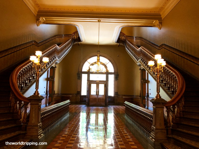 Beautiful Staircases in Iowa State Capitol Building