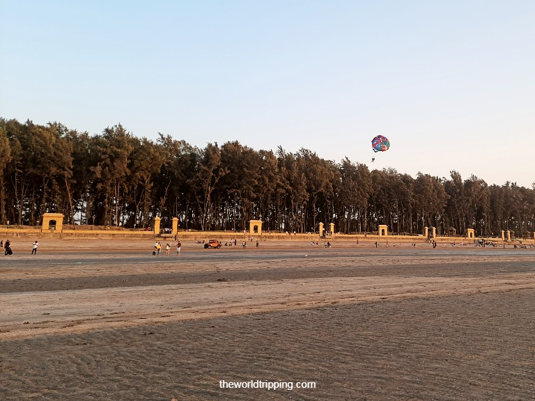 The Jampore Beach, Daman