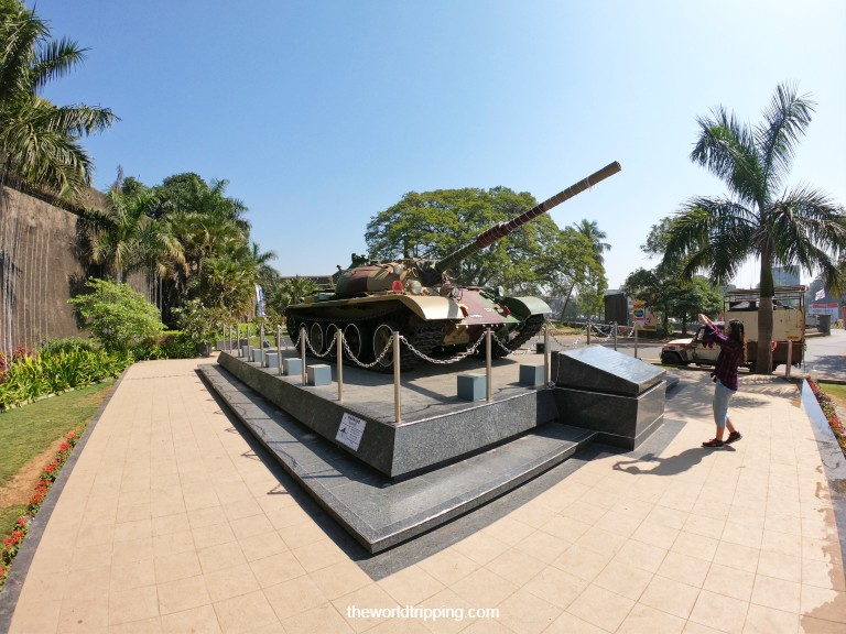 The Indian Army T-55 Tank