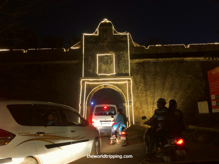 Entry & Exit of Moti Daman Fort