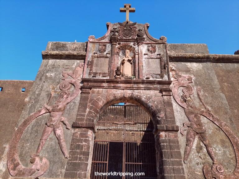 Entrance of St. Jerome Fort, Nani Daman