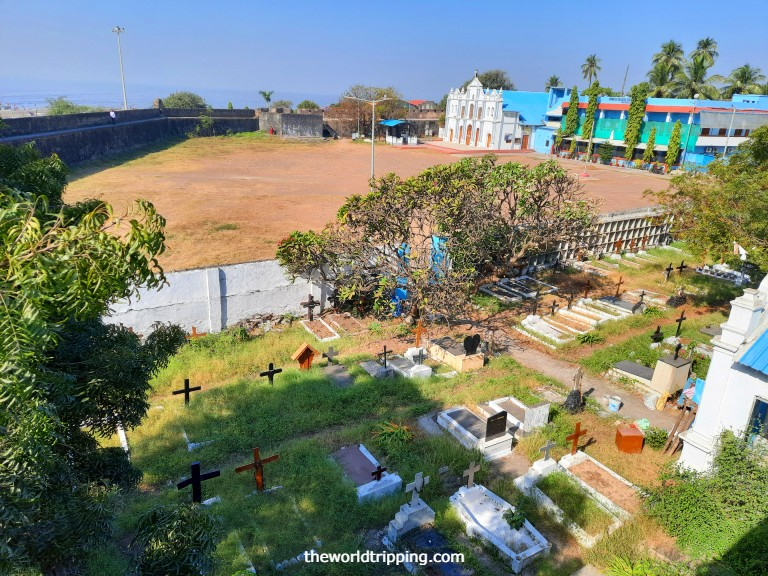 Nani daman Fort premises