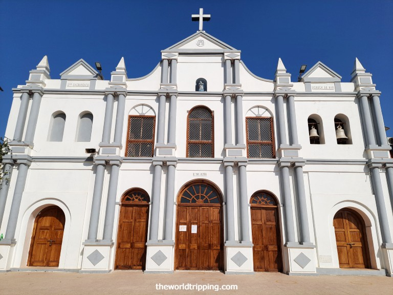 The Church of our Lady of the Sea, Daman